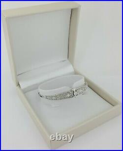0.5 ct Platinum Art Deco Antique Old European Cut Diamond Bracelet 6.4