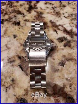 $1550 Tag Heuer Aquaracer Mother of Pearl MOP Swiss Quartz Women's Watch WAF1414