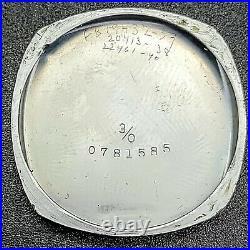 1918 Art Deco ELGIN Watch 7 Jewels Cal. Grade 418 U. S. A. Vintage Wristwatch