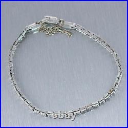 1920's Antique Art Deco Platinum 0.50ctw Diamond Bracelet