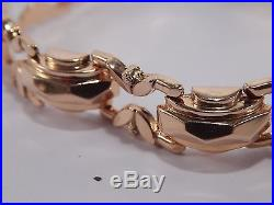 Antico Raro Gioiello Bracciale In Oro 18 Kt. Epoca Art Deco Gold 18 Kt. Bracelet