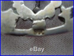Antique Art Deco Peruzzi Style 800 Silver Bracelet Lion -fleur De Lis -link