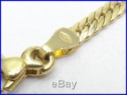 Armkette bracelet 750 GOLD Armband pulsera Zirkonia Regenbogen Art Deco oro 14kt