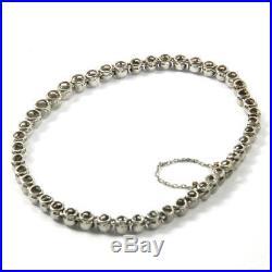Art Deco 5 ct Diamant Armband Tennisarmband Rivière Platin Diamond Bracelet 1930
