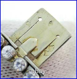 Art Deco CHAUMET Diamond Platinum BRACELET 1930s French