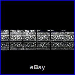 Art Deco Sapphire Diamond Platnium Bracelet