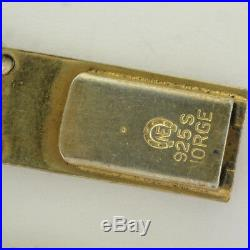 Art Deco Silver Enamel Bracelet ELVIK Norway