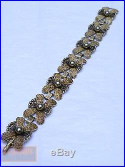 Art Deco Theodor Fahrner Armband Silber 925 Tf Um 1930 Pforzheim Bracelet