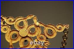 Askew London Art Nouveau Deco Egyptian Revival Necklace Bracelet Earrings Snake