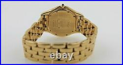 Authentic Cartier Cougar Panthere 116000R Large 33MM Yellow Gold Watch