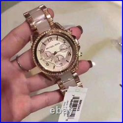 Brand New Genuine Michael Kors Ladies Watch Mk5943 Rose Blair Bnib Riginal Uk