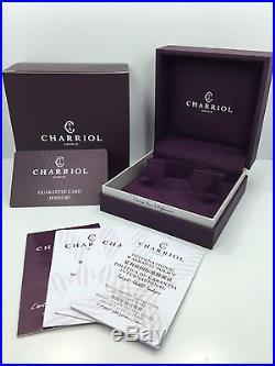 CHARRIOL Bangle New Art Deco Black PVD Steel & Black Lacquer 04-03-180 (Size M)