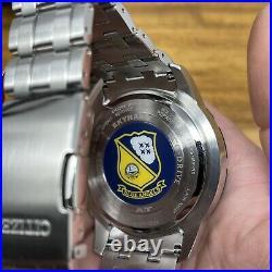 CITIZEN Discontinued PROMASTER SKYHAWK A-T Blue Angels JY8058-50L USA Seller