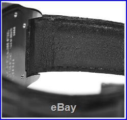 Cartier Santos 100 Steel Silver Roman Dial Mens Watch Box/Papers 2656 W20073X8