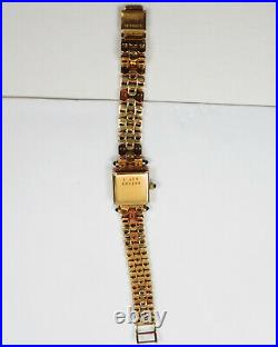Chopard Swiss, 18k Yellow Gold Diamond Ladies Watch