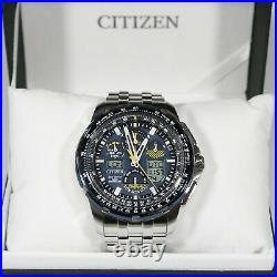 Citizen Blue Angels Promaster Skyhawk A-T Stainless Steel Watch JY8058-50L