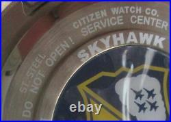 Citizen Promaster JY8058-50L Solar Watch Skyhawk Blue Angels Radio Controlled