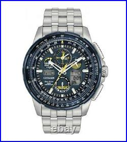 Citizen Promaster Skyhawk A-T Eco-Drive Stainless Steel Mens Watch JY8058-50L
