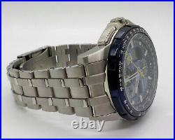 Citizen Skyhawk A-T Blue Angels Digital/Analog Watch JY8058-50L $775 Retail