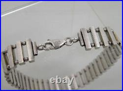 DESIGN SILBER ARMBAND 925/1000 Sterling Silber RETRO ART DECO SILVER BRACELET