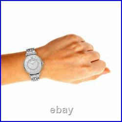 Emporio Armani Ladies GIANNI T-BAR Watch Silver AR1908