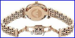 Emporio Armani Ladies Watch Ar1909 Bnib Warranty, Certificate New Original