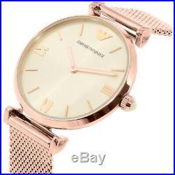 Emporio Armani Ladies Watch Ar1956 Bnib Warranty, Certificate New Original