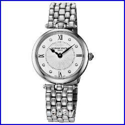 Frederique Constant Women's Art Deco Diamonds Quartz 30mm Watch FC-200MPWD2AR6B