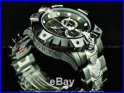INVICTA Reserve Men 52mm KING VIPER VENOM Swiss Z60 Chrono Black 2Tone SS Watch
