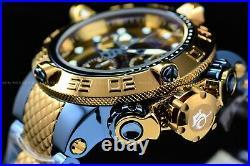 Invicta 50mm Subaqua Noma Swiss Chrono Khaki Gold Blue/Green High Polish Watch