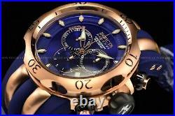Invicta 54mm Reserve Venom Blue Rose Gold Swiss Chrono 1000M Diver 13J SS Watch