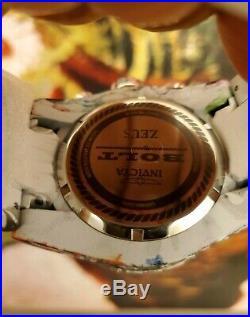 Invicta Bolt Zeus RARE Graffiti Hydroplated Mens 52mm Swiss Chrono Watch 27095