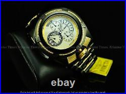 Invicta Men 56mm Bolt Zeus Tria Black Ion Plated Stylish Chronograph Swiss Watch