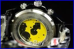 Invicta Men's 50MM Reserve Swiss Super Black 2Tone Chronograph Bracelet SS Watch