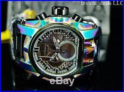 Invicta Men's Reserve 52mm Bolt Zeus MAGNUM Swiss Chronoraph Dual Time SS Watch