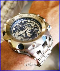 Invicta Reserve Men's 52mm Venom Hybrid Swiss Quartz Blue Dial Bracelet Watch