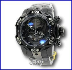 Invicta Reserve Venom Black Skull 30352 Men's 52.5mm Swiss Chronograph Watch