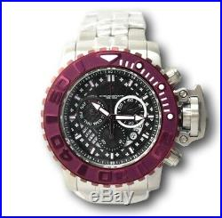 Invicta Sea Hunter Gen II Men's Burgundy Z60 Swiss Chronograph Watch 70mm 27368
