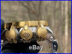 Invicta Subaqua Sea Dragon Quartz 52mm Stainless Steel Bracelet Watch 31504