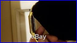 Jaeger LeCoultre Men's Reverso Flyback Chronograph 18k Gold Case/Bracelet