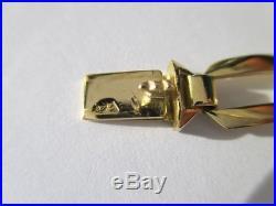 Magnifique bracelet ancien Art Déco Or massif 18 carats 750 9,2g Etat neuf