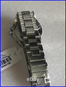 Michael Kors Ladies Mk5869 Silver Camille Watch