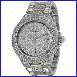 Michael Kors Ladies Watch Mk5869 Silver Camille Bnib 2y Warranty New Original