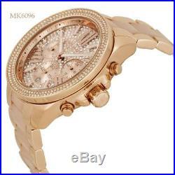 Michael Kors Ladies Watch Mk6096 Wren Rose Gold Bnib 2y Warranty New Original