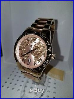 Michael Kors Women's Layton Rose Gold & Gold-Tone Watch MK6476