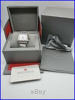 Michele Deco MOP Dial Diamond Women's Watch # MWW06P000099