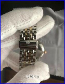 Michele Serein 46 Diamonds Mother of Pearl 2-Tone Women's Watch MWW21B000015