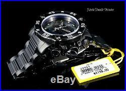 NEW 52MM Invicta Reserve Sea Hunter PROPELLER MOP Dial All Black Bracelet Watch
