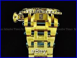 NEW Invicta 52mm Men's LE GoldOut BLU JT CHAOS Ronda Z60 FE Chronograph SS Watch