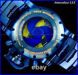 NEW Invicta Men 58mm Gen III Sea Hunter SwissZ60 Chronograph BLUE LABEL SS Watch